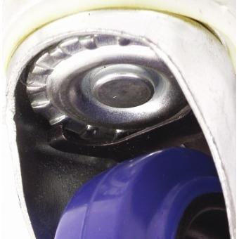ROADINGER Swivel Castor 100mm blue with brake #2