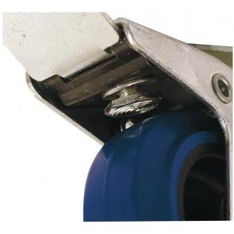 ROADINGER Swivel Castor 100mm blue with brake #3