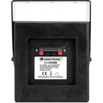 OMNITRONIC LI-105B Wall Speaker black #3