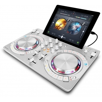 DDJ-WEGO3 White - Multi-colour, compact DJ software controller #2