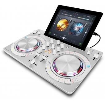DDJ-WEGO3 White - Multi-colour, compact DJ software controller #2