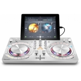 DDJ-WEGO3 White - Multi-colour, compact DJ software controller