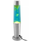 EUROLITE Lava Lamp yellow/blue, Base silver