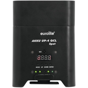EUROLITE AKKU UP-4 QCL Spot WDMX #4