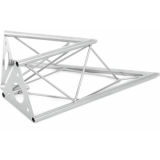 DECOTRUSS SAC-19 Corner 2-Way 45° silver
