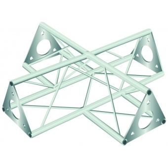 DECOTRUSS SAC-41 crossing 4-way silver #2