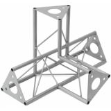 DECOTRUSS SAC-45 corner 4-way l+h silver