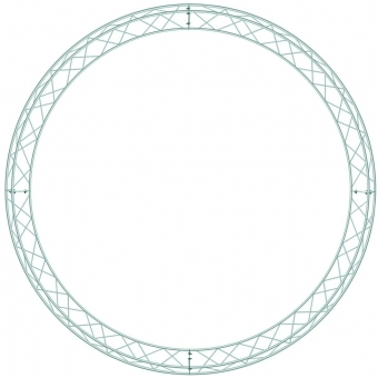 DECOTRUSS Circle-Piece 1570mm for 2 Meter #2