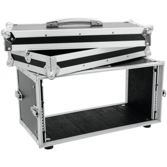 ROADINGER Effect Rack CO DD, 5U, 24cm deep, black #3