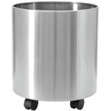 EUROPALMS STEELECHT-25, stainless steel pot, Ø25cm