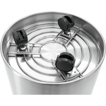 EUROPALMS STEELECHT-40, stainless steel pot, Ø40cm #4