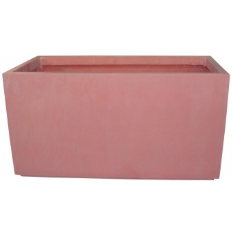EUROPALMS Cachepot Terracotta-optics 50x25x25cm
