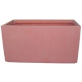 EUROPALMS Cachepot Terracotta-optics 40x20x20cm