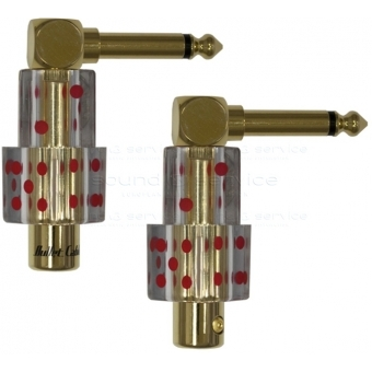 BULLET CABLE  - jack 6.3mm 90º #12