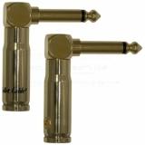 BULLET CABLE  - jack 6.3mm 90º
