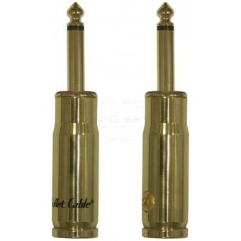 BULLET CABLE - jack 6.3mm drept