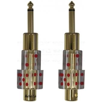 BULLET CABLE - jack 6.3mm drept #10