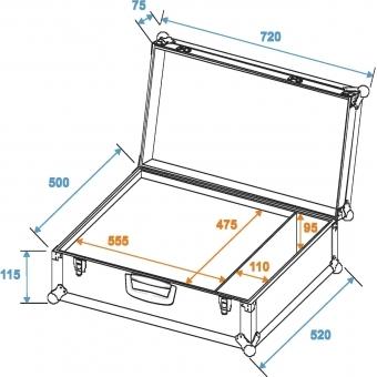 ROADINGER Universal Case K-2 #4