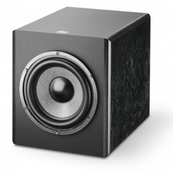 Focal SM-6 SUB black burr ash finish