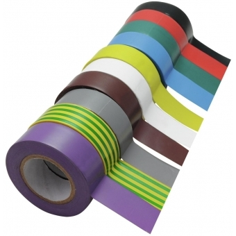 ACCESSORY Electrical Tape 19mmx10m 10x #1