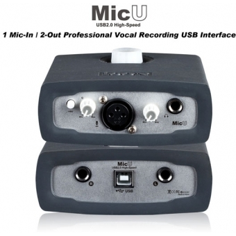 Icon MicU - 1-In/2-Out Recording USB Interface