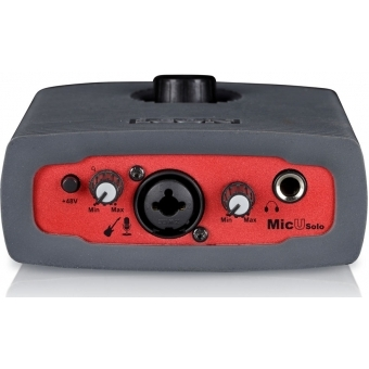 Icon Micu Solo - 1-guitar-In/2-Out USB Recording Interface