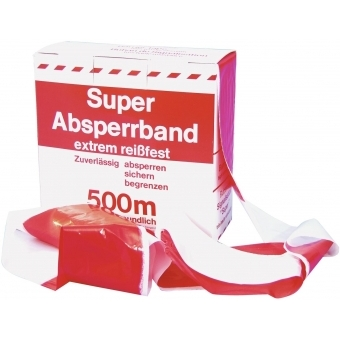 ACCESSORY Barrier Tape red/wh 500mx75mm #2