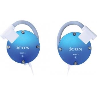 Icon Scan 3 - Casti in-ear alb/negru/silver/pink/red/blue #4