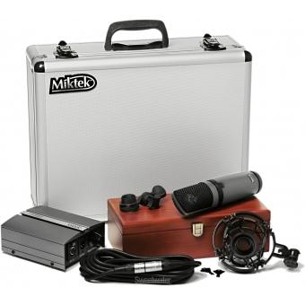MIKTEK CV3 - Microfon studio condenser, diafragma mare #3