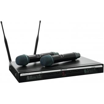RELACART UR-260D 2-Channel UHF System #4