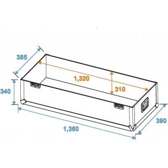 ROADINGER Flightcase 2x LCD ZL50 #5
