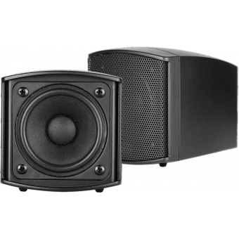 OMNITRONIC OD-2 Wall Speaker 8Ohms black 2x