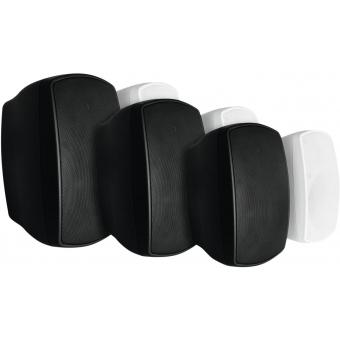 OMNITRONIC OD-5 Wall Speaker 8Ohms black 2x #5