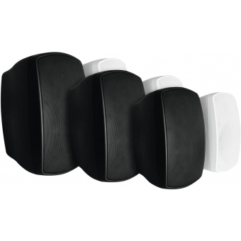 OMNITRONIC OD-5A Wall Speaker active white 2x #4