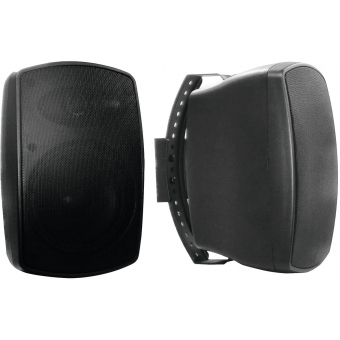 OMNITRONIC OD-6A Wall Speaker active black 2x