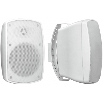 OMNITRONIC OD-6A Wall Speaker active white 2x