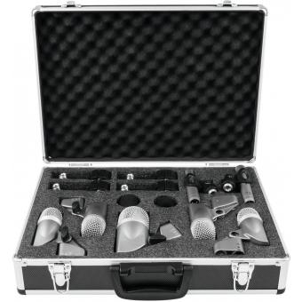 OMNITRONIC MIC 77-7LMH Drum Microphone Set #3