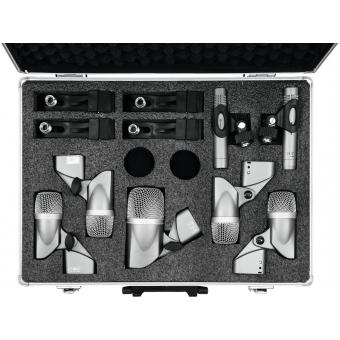OMNITRONIC MIC 77-7LMH Drum Microphone Set #4