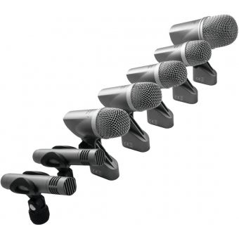 OMNITRONIC MIC 77-7LMH Drum Microphone Set #5