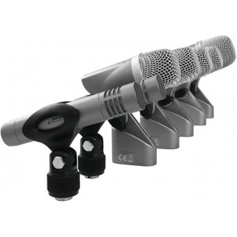 OMNITRONIC MIC 77-7LMH Drum Microphone Set #6