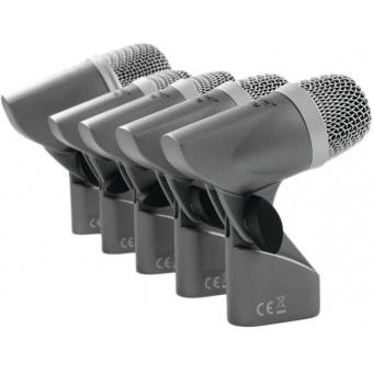 OMNITRONIC MIC 77-7LMH Drum Microphone Set #8