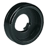 ACCESSORY Plastic Washer, black, big (recessed)