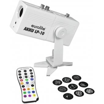 EUROLITE AKKU LP-10 Gobo Projector #2