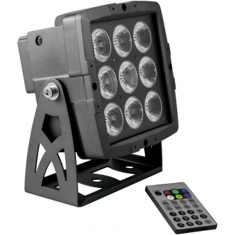 EUROLITE LED IP PAD 9x8W HCL