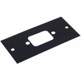 OMNITRONIC Module 2U 1x IEC male 44x88mm