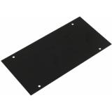 OMNITRONIC Module 2U plate 176x88mm