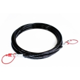 CO2 HIGH PRESSURE HOSE 3/8 MALE - FEMALE, 15M