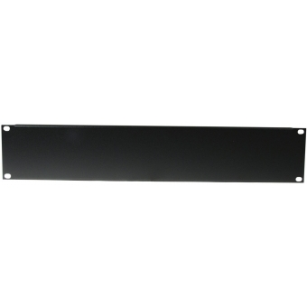 OMNITRONIC Front Panel Z-19U-shaped steel black 2U
