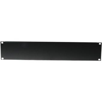 OMNITRONIC Front Panel Z-19U-shaped steel black 2U