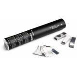 Tun manual Confetti Metalice 28cm, argintiu/auriu/alb+argintiu